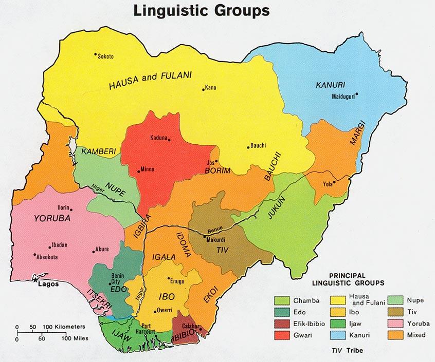 Nigeria linguistic 1979